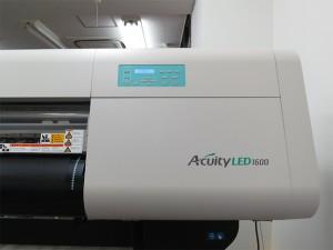 富士フイルム UVプリンター Acuity LED1600 導入!