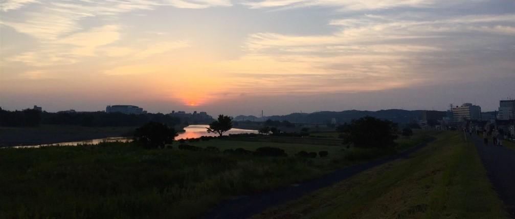 この夏は多摩川に思いを馳せて。